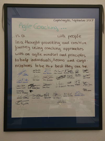 Definition Agile Coaching